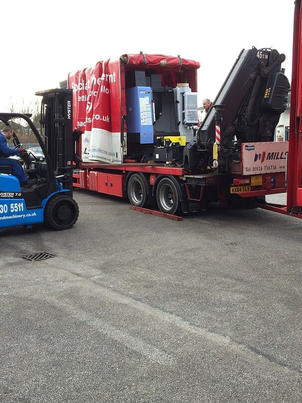 doosan delivery unload