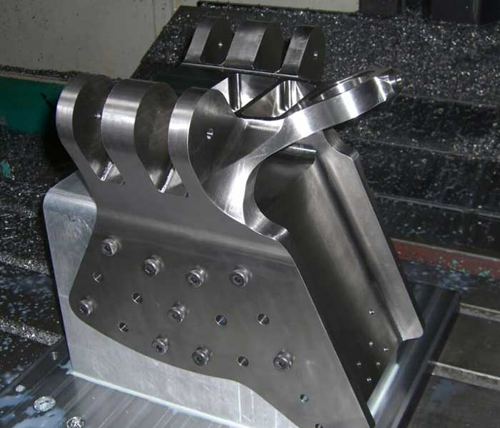 Titanium Moment Fitting During Machining