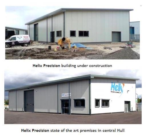 sutton fields industrial estate Hull Helix